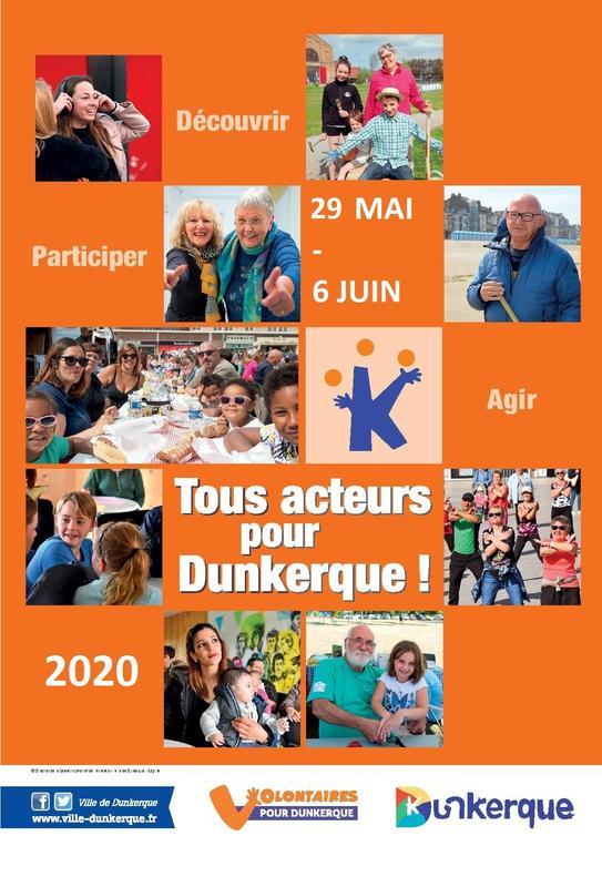 Illustration pour l'actualité Appel à projets Tous acteurs pour Dunkerque 2020