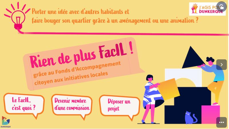 Illustration pour l'actualité Fond d'accompagnement citoyen aux initiatives locales ( Facil )