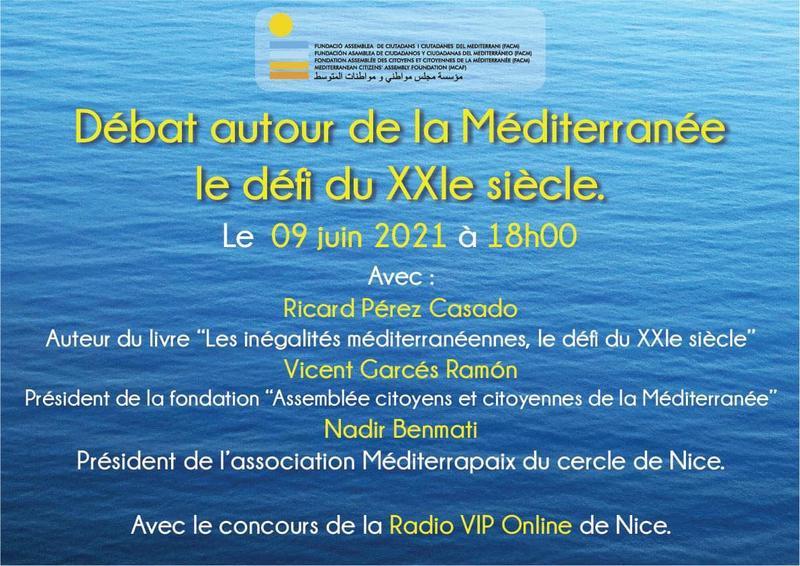 Illustration pour l'actualité Débat autour de la Méditerranée