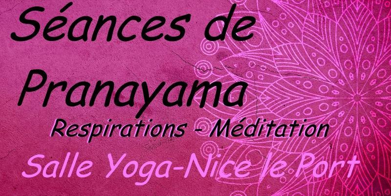 Illustration pour l'actualité Séances de pranayama : respirations - méditation