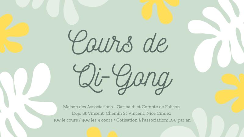 Illustration pour l'actualité Cours de Qi Gong