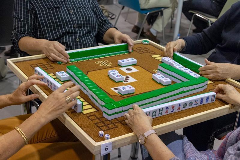 Illustration pour l'actualité Initiation au Mahjong