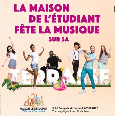 Illustration pour l'actualité La Maison de l'Etudiant fête la musique!!