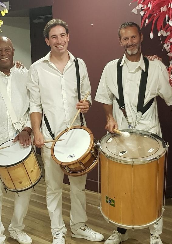 Illustration pour l'actualité Cours de percussions brésiliennes