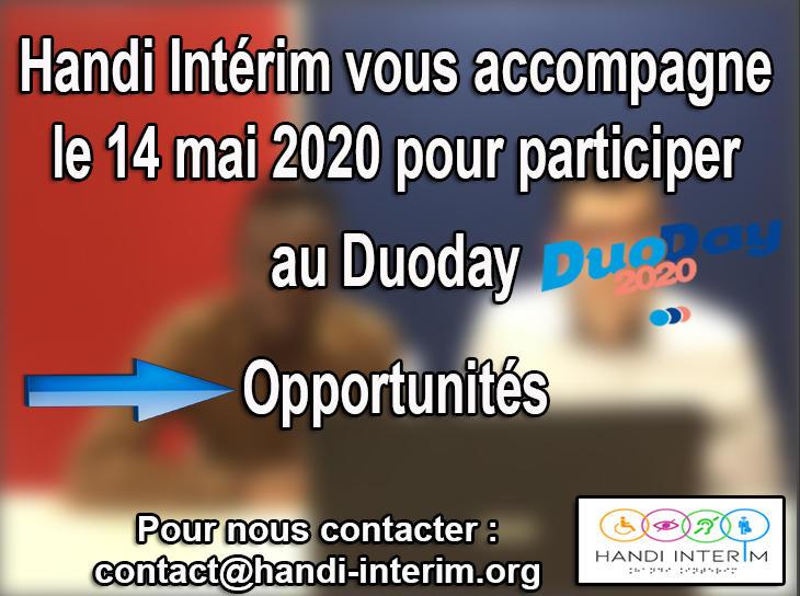 Illustration pour l'actualité Accompagnement au Duoday 2020