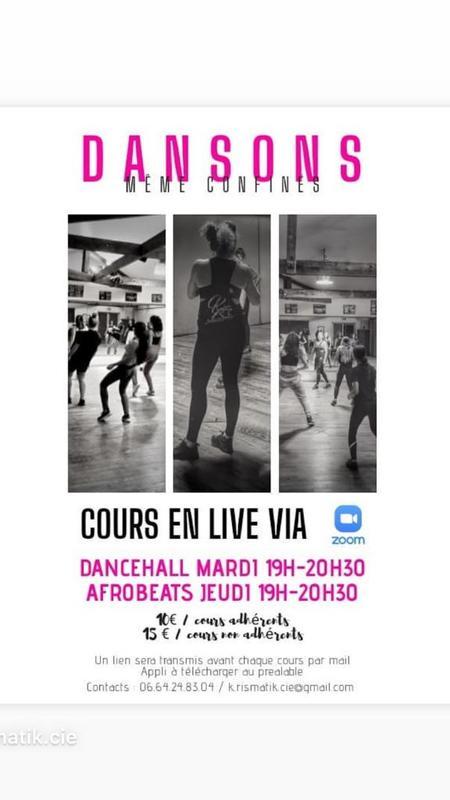 Illustration pour l'actualité Cours de danse en ligne