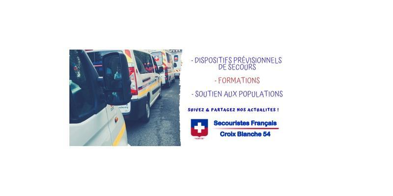 Illustration pour l'actualité Devenir  Secouristes Français Croix Blanche 54