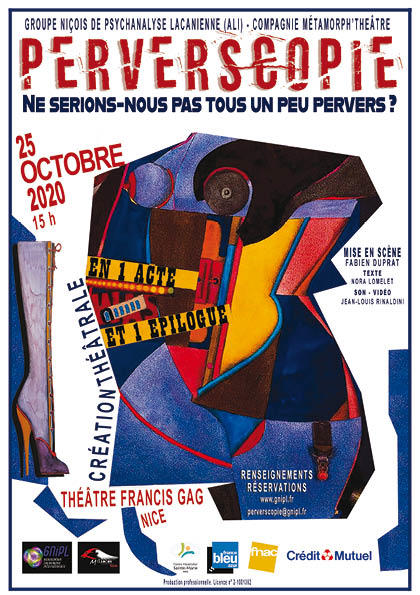 Illustration pour l'actualité PERVERSCOPIE au Théâtre Francis Gag le 25 octobre à 15h