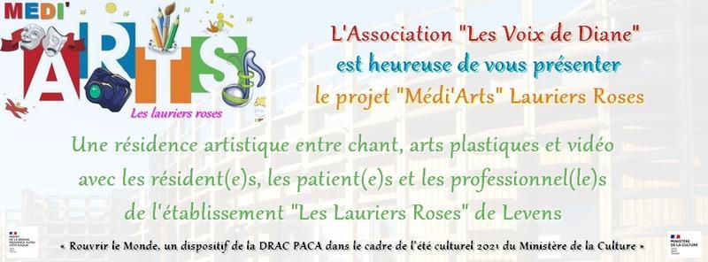 Illustration pour l'actualité Médi'Arts lance sa cagnotte participative