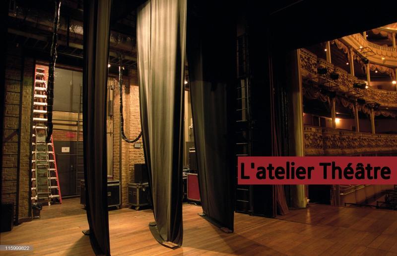 Illustration pour l'actualité Atelier Théâtre avec Ralf Schütte