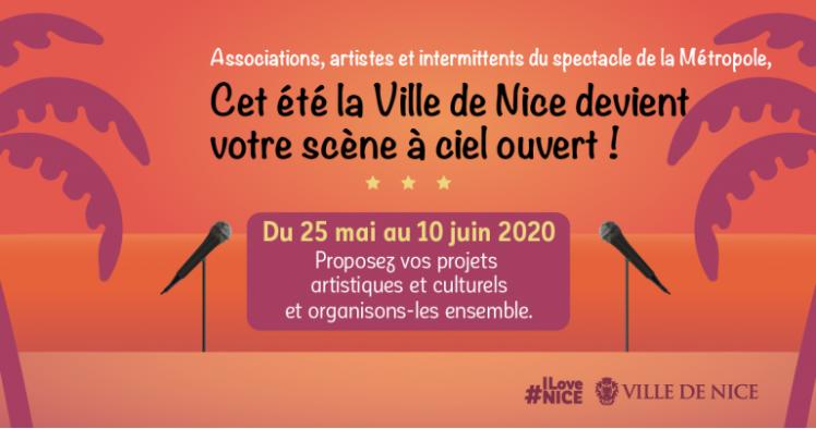 Illustration pour l'actualité Appel à candidature : Projets artistiques de l'été 2020