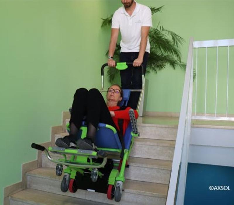 Illustration pour l'actualité Crowdfunding pour l'achat d'une chaise monte-escalier