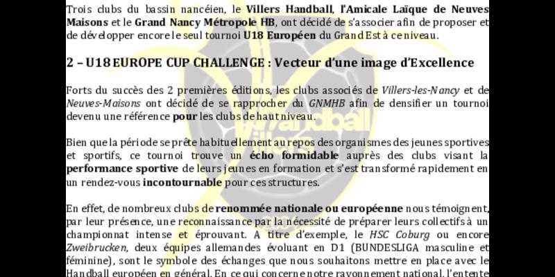 Illustration pour l'actualité tournoi U18 européen