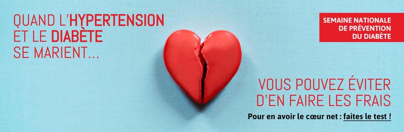 Illustration pour l'actualité Semaine nationale de prévention du diabète 2020