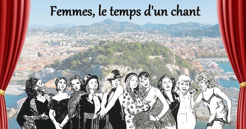 """Illustration pour l'actualité """"Femmes, le temps d'un chant"""" sur la colline du château"""
