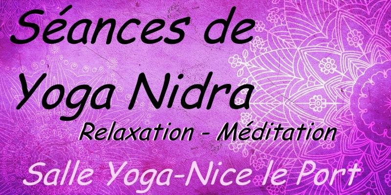 Illustration pour l'actualité Séances de yoga nidra : relaxation - méditation
