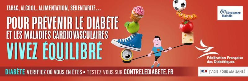 Illustration pour l'actualité Semaine Nationale de Prévention du Diabète