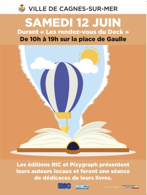 Illustration pour l'actualité Le Salon du Livre de Cagnes-sur-Mer 2021