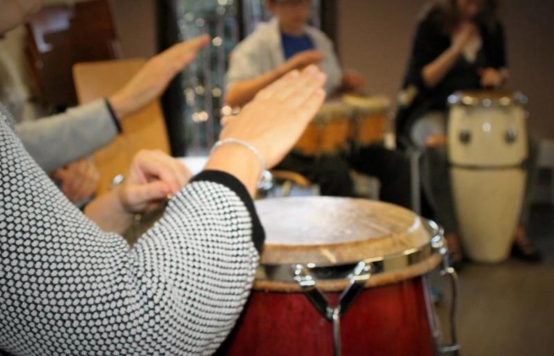 Illustration pour l'actualité Cours de percussions afro-cubaines