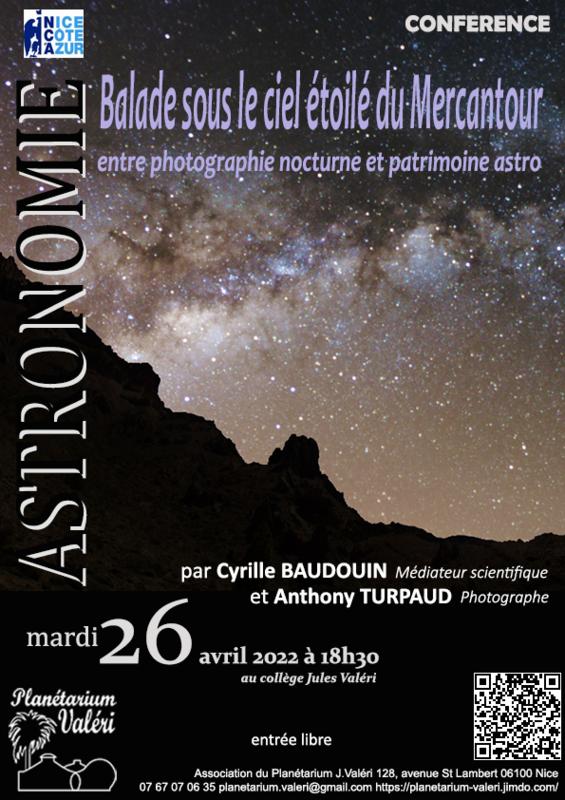 Illustration pour l'actualité Balade sous le ciel étoilé du Mercantour