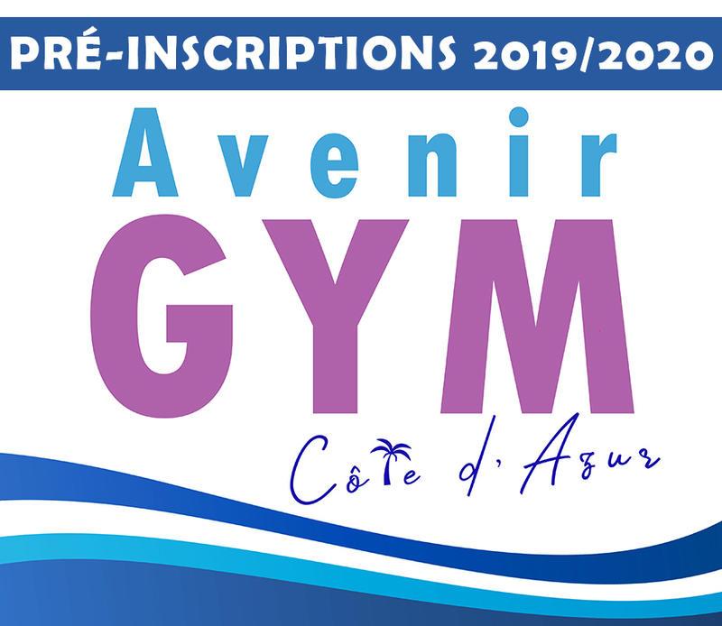 Illustration pour l'actualité Avenir Gym Côte d'Azur * PRE-INSCRIPTIONS 2019-2020 *