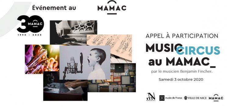 Illustration pour l'actualité Musicircus au MAMAC : Appel à participation