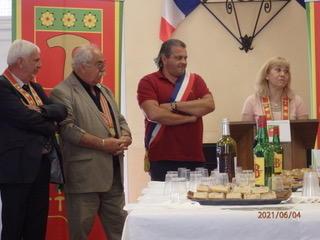 Illustration pour l'actualité Remise de don à la commune de Fontan le 4 juin 2021