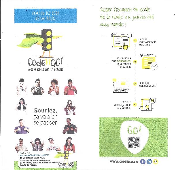 Illustration pour l'actualité Passage de l'examen officiel du code de la route