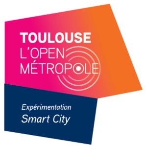 Logo de Toulouse Open Métropole - Expérimentation Smart City