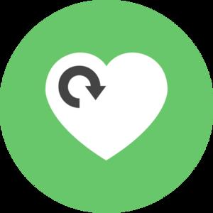 Illustration pour 'badge action sociale'