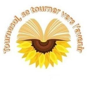 Logo de l'association Tournesol, se tourner vers l'avenir
