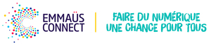 Logo de l'association Emmaus-Connect