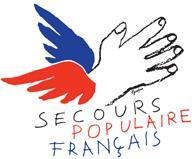 Logo de l'association secours populaire Français