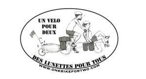Logo de l'association Un vélo pour deux, des lunettes pour tous