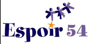 Logo de l'association ESPOIR 54