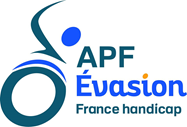 Logo de l'association APF France handicap