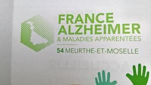 Logo de l'association France alzheimer 54