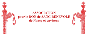 Logo de l'association Association pour le don de sang bénévole de Nancy et environs