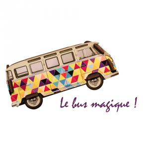Logo de l'association Le Bus Magique