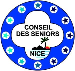 Logo de l'association Conseil des Séniors de Nice