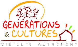 Logo de l'association Générations et Cultures - Vieillir Autrement