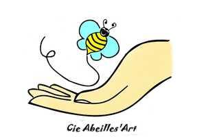 Logo de l'association cie abeilles'art
