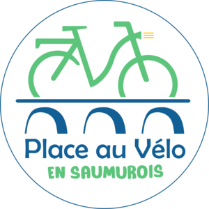Logo de l'association PLACE AU VÉLO EN SAUMUROIS
