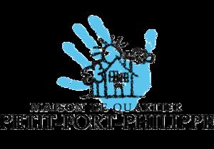 Logo de l'association Atouts ville Maison de quartier Petit Fort Philippe