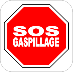 Logo de l'association SOS GASPILLAGE