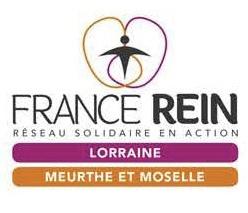 """Logo de l'association ASSOCIATION DE LA REGION LORRAINE D'AIDE AUX INSUFFISANTS RENAUX DIALYSES ET TRANSPLANTES """"FRANCE REIN LORRAINE"""""""