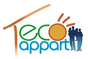 Logo de l'association Eco appart -- Plateforme Loj'toît