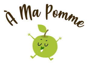 Logo de l'association À MA POMME