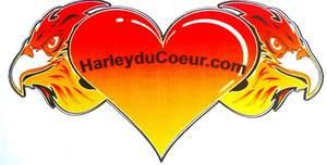 Logo de l'association LES HARLEY DU COEUR