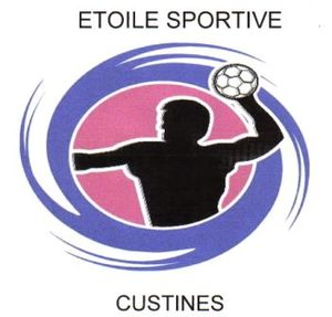 Logo de l'association ES CUSTINES HANDBALL